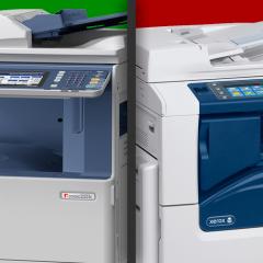 Alquiler de impresoras Xerox o Toshiba: experiencia y calidad
