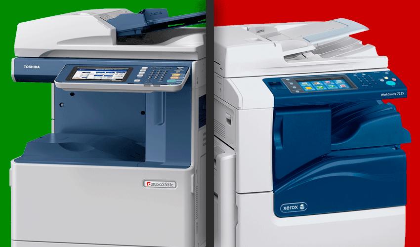 Alquiler de impresoras Xerox o Toshiba