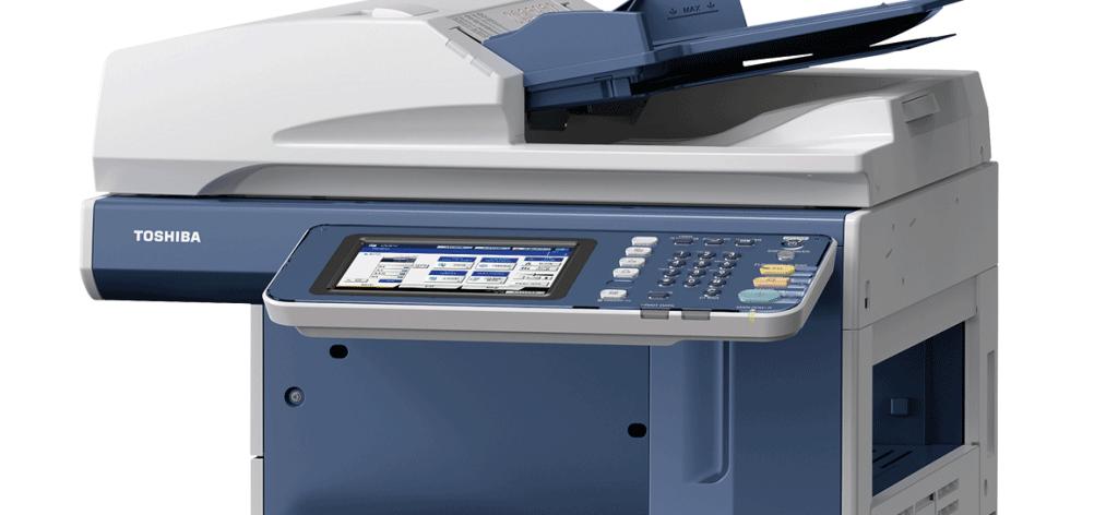 Las 2 impresoras Toshiba multifunción e-STUDIO para las empresas