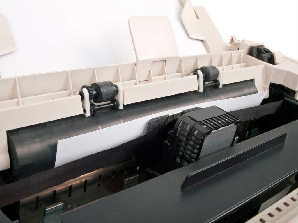Renovar la impresora en la oficina