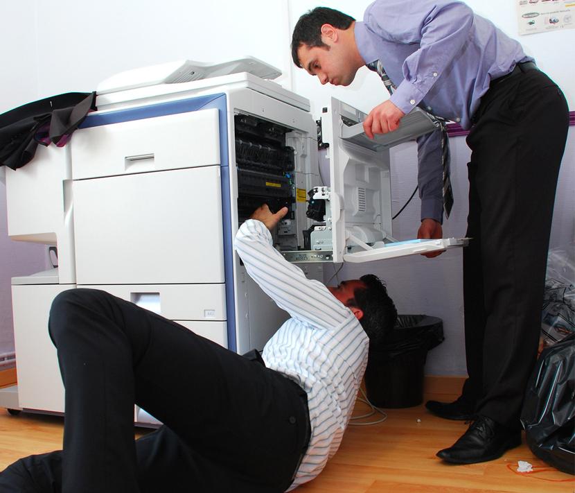 Alquiler de fotocopiadoras: la solución ante una avería