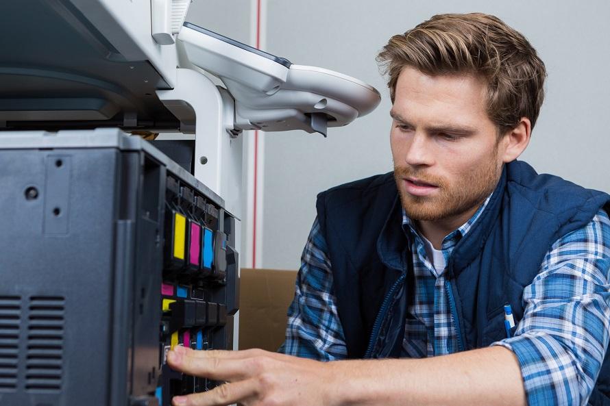 Medidas de seguridad para las impresoras multifuncionales profesionales
