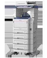 Renting impresora blanco y negro
