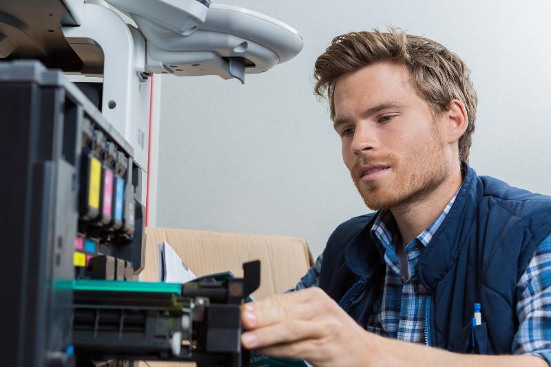 Calidad de impresión en una fotocopiadora multifunción de alquiler