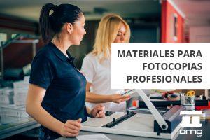 Las fotocopias profesionales en la oficina sirven para mucho más que imprimir papel