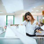 Las ventajas de una fotocopiadora con pantalla táctil