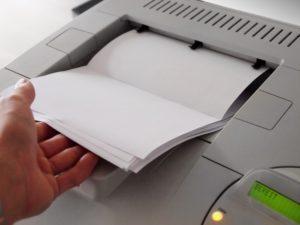 Tipos de atascos en la fotocopiadora