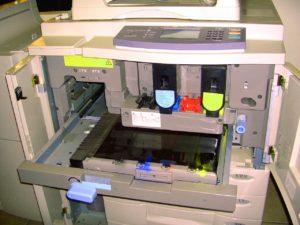 partes principales de una fotocopiadora