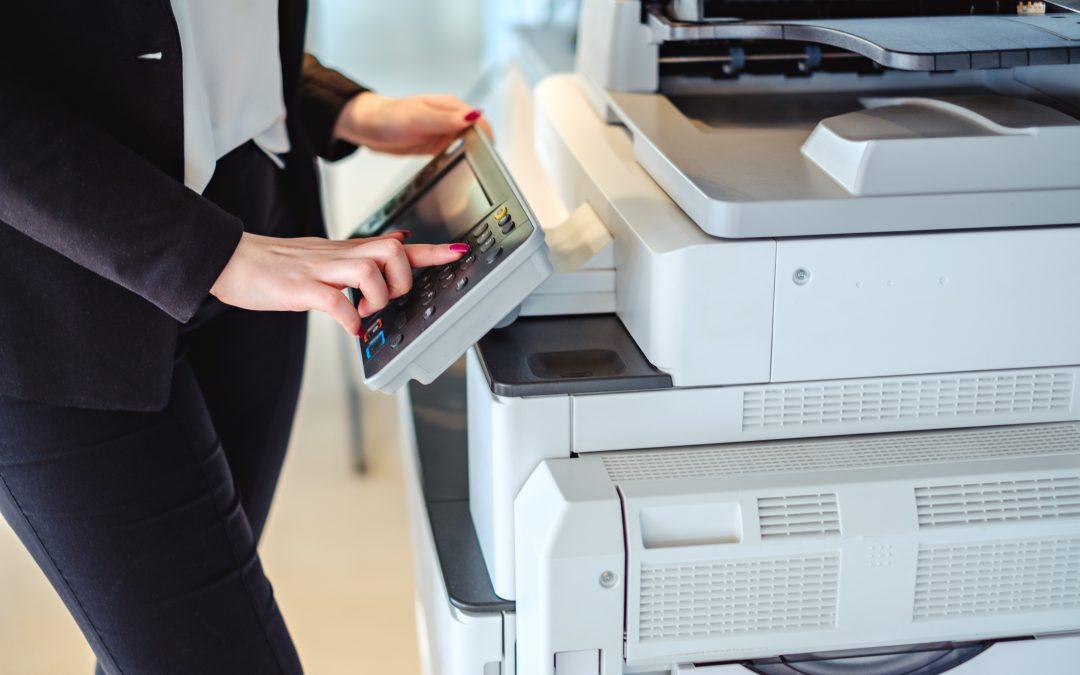 Cómo funciona el renting de fotocopiadoras