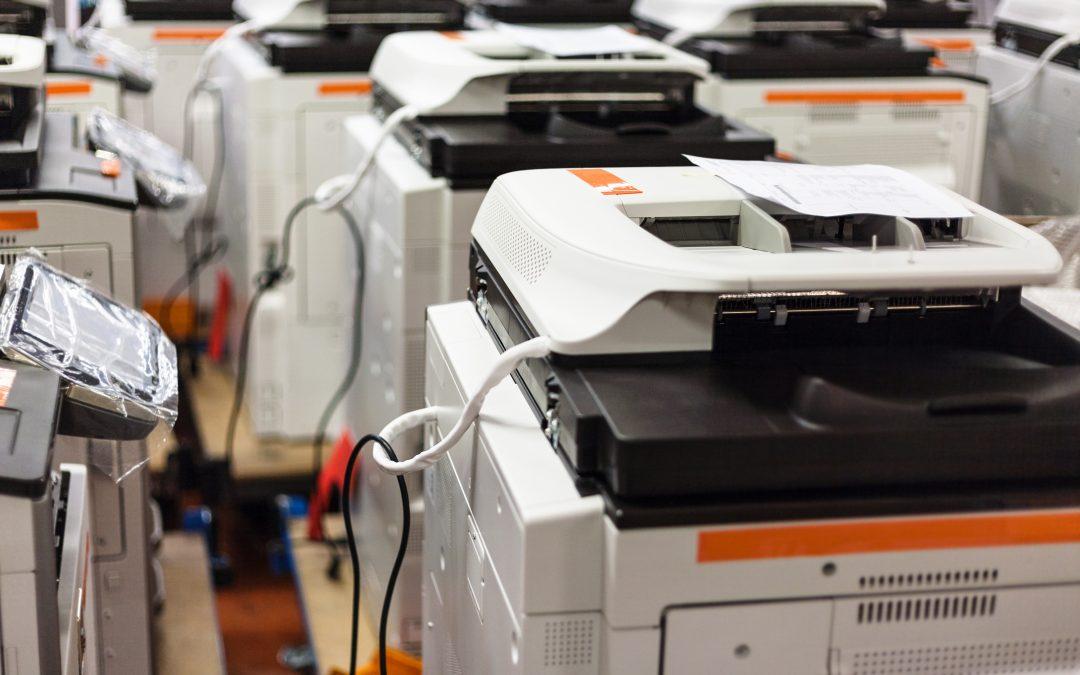 ¿Qué es el leasing de fotocopiadoras?