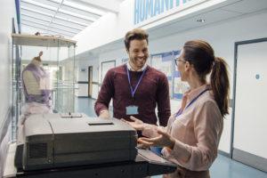 como saber ip impresora