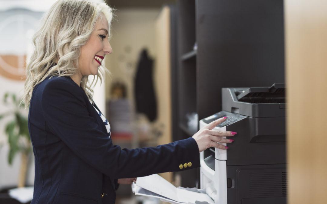Las ventajas de las impresoras multifunción a color para pymes